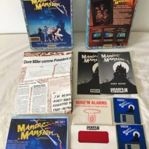 Maniac Mansion Amiga French